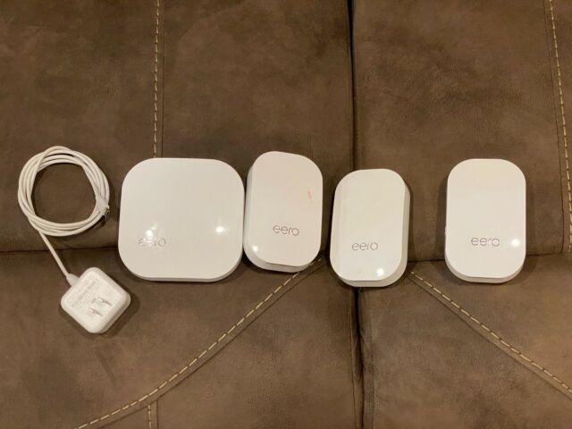 Eero Home mesh WiFi System (1 eero Pro+ 3 eero Beacons)