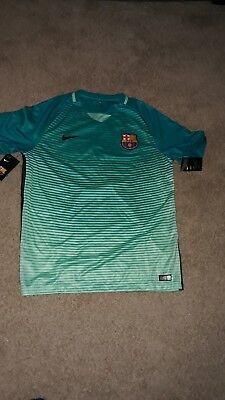 Nike Barcelona Jersey Denis Suarez #6 Blue/Green Men's XL   eBay