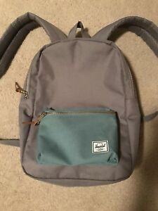 Image is loading HERSCHEL-SUPPLY-CO-SETTLEMENT-MID-BACKPACK-GREY-SEAFOAM- bc6236f68e836