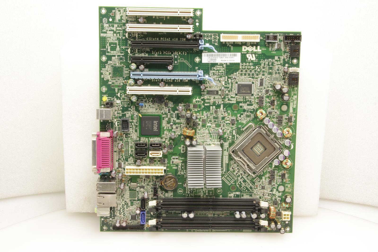 DELL 0TP412 TP412 MOTHERBOARD FOR DELL PRECISION T3400 WORKSTATION USED