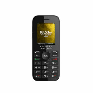 Alcatel-One-Touch-Cinch-1018B-SPRINT-Basic-Voice-Phone-Black