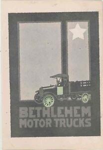 1917 Bethlehem Truck Brochure Allentown Pennsylvania wr5464-9MOS7I