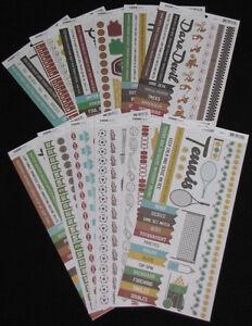 You choose colour Kaisercraft /'NUMBER STICKER SHEET/' Card Making NEW KAISER