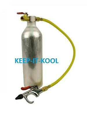 Klimaanlage Spülung Reinigen Druckpistole Klimawartung klimaleitungen spezial ac