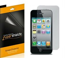 3X Supershieldz Anti Glare Matte Screen Protector Shield For Apple iPhone 4 4S