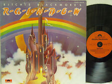 RAINBOW - Ritchie Blackmore's Rainbow LP (RARE German Import on POLYDOR, Debut)