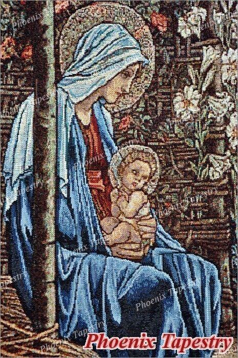 98 x 139cm, 139cm, 139cm, Gobelin Wandteppich Wandbehang  Adoration of the Magi  Baumwolle100% | Charmantes Design  1f3f6b