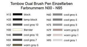 Tombow-Dual-Brush-Pen-ABT-Stifte-Einzelfarben-N00-N95