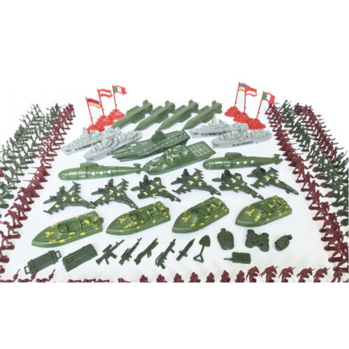 337x 4cm Army Soldiers Actionfiguren Military Playset Submarine Model Toys