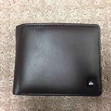 "Quiksilver Men's Wallet ""Silm''--Black"