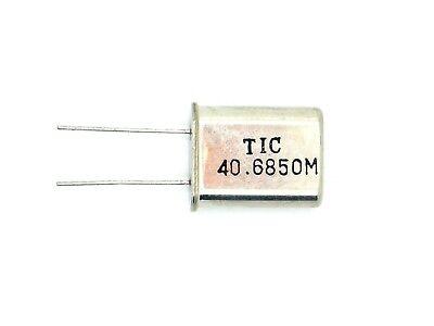 1x Tic Quarzoszillator 40.6850m (mhz,quarz,schwingquarz,schwing,oszillator)q40