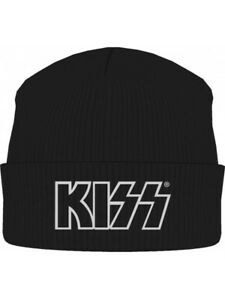 Kiss Beanie Hat Zuccotto Logo Official Merchandise