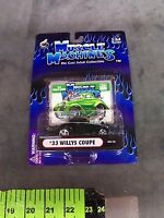 1933 Willy's Coupe Muscle Machines 1/64 In Package