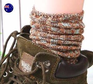 Women-Girls-Ankle-Fancy-Retro-Cotton-Warm-Winter-Loose-Fashion-Long-stripe-Socks