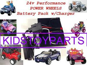 Details about 24V Long Run Conversion Kit Power Wheels (Battery/Charger)  $20 CASH Back Option