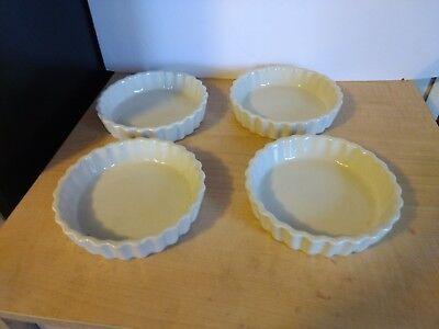 8 Piece Ceramic Mini Tart Flan Set