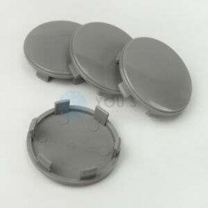 4-x-Nabenkappen-Nabendeckel-Felgendeckel-60-0-55-5-mm-Z06L-grau