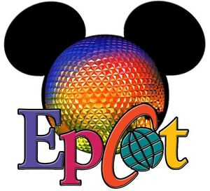 Disney Family Vacation Mickey Minnie Mouse Epcot Fabric