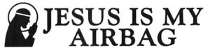 Jesus-Is-My-Airbag-Sticker-for-Ford-Fiesta-Escort-Lada-Rover-Honda-SEAT-INTERNAL