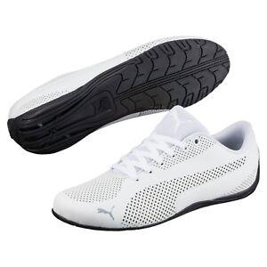 NIB-Men-039-s-Puma-DRIFT-CAT-Ultra-Reflective-SHOES-Shoes-363814-03-Kart-Future-Wh