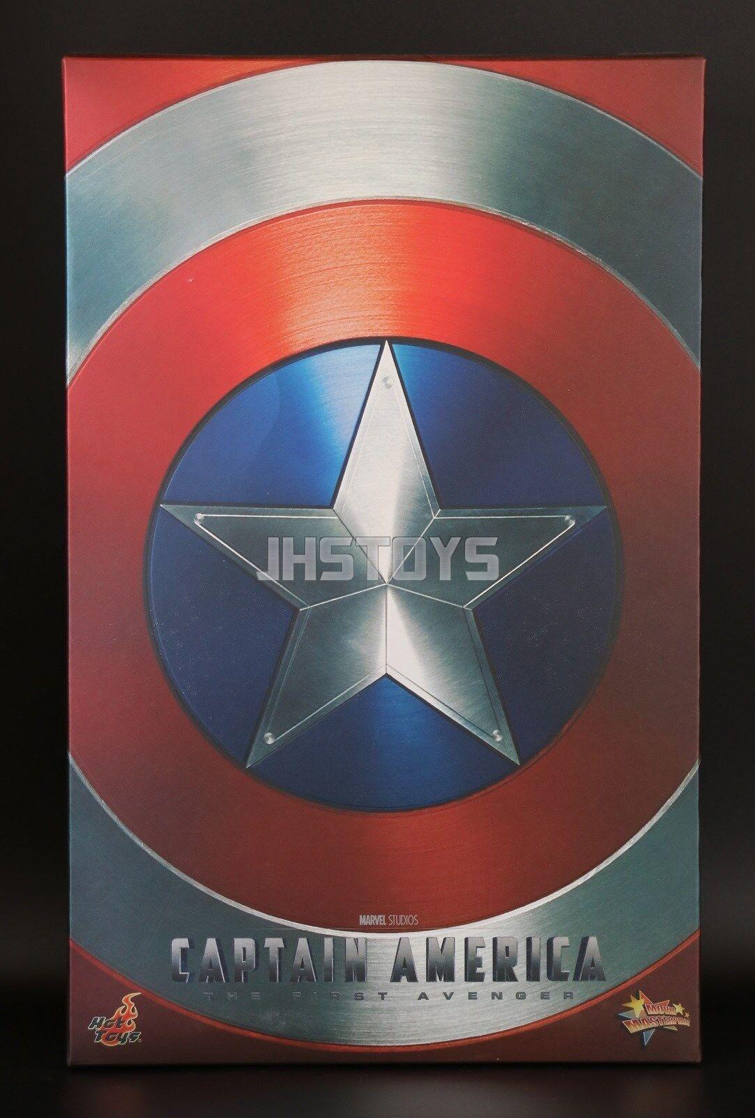 Hot Toys 16 Capitán América El Primer Vengadores CPT America Steve Rogers MMS156