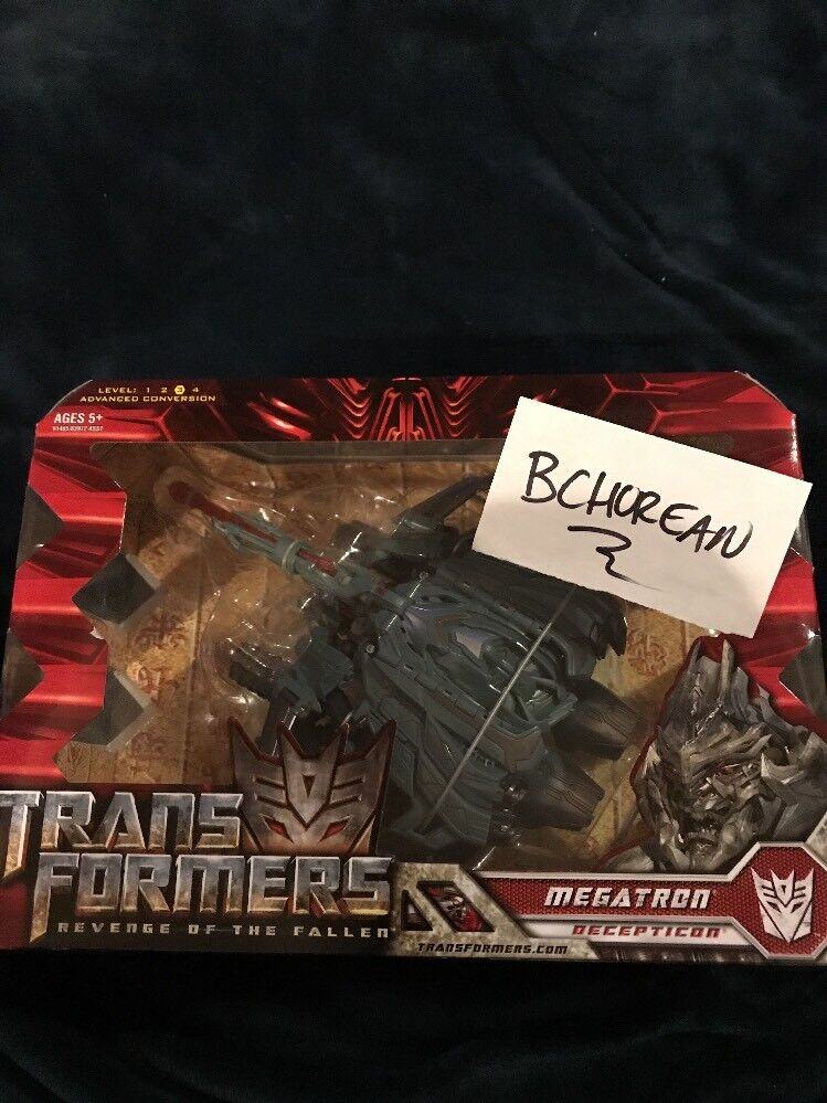 Transformers Movie Revenge Of The Fallen redF Voyager Class Megatron New