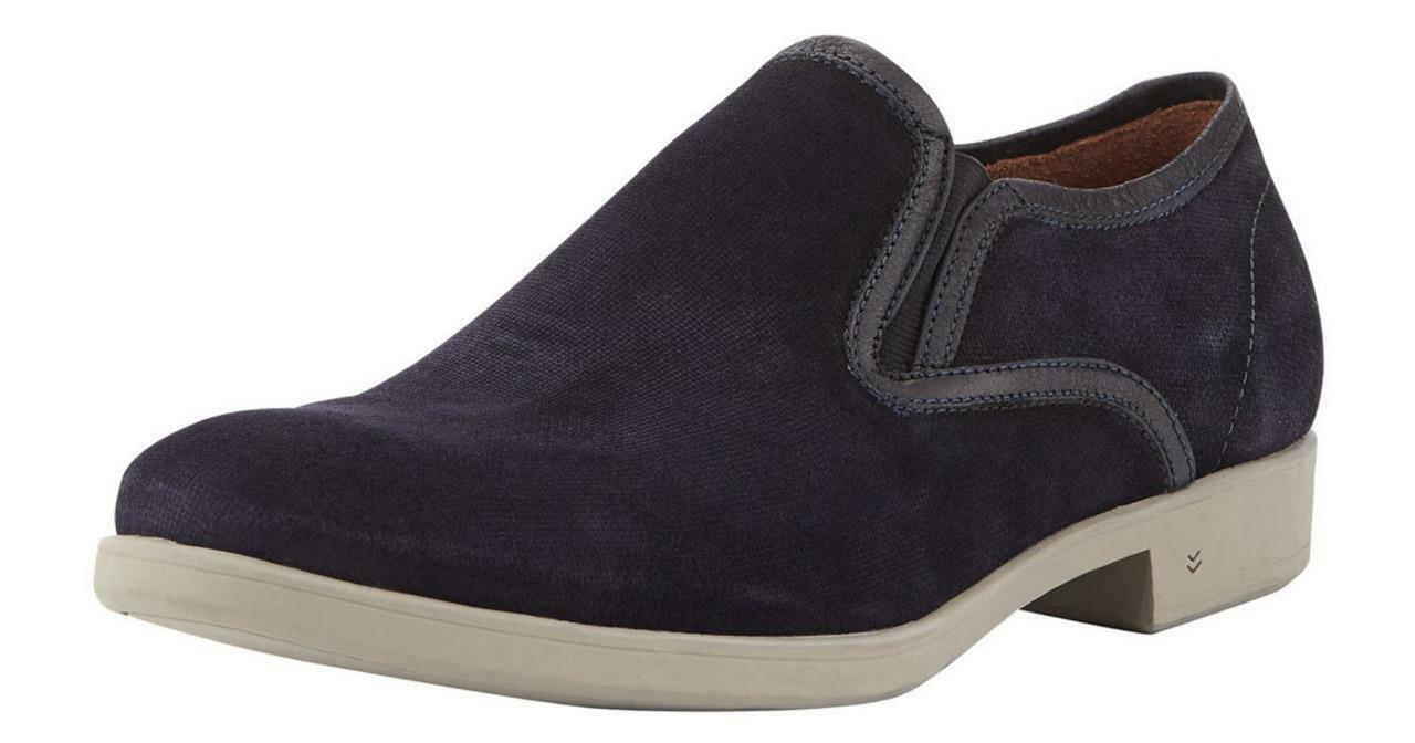New in Box -  428 JOHN VARVATOS Dylan Dylan Dylan Sidegore Midnight Suede Loafers Taglia 10.5 7a0935