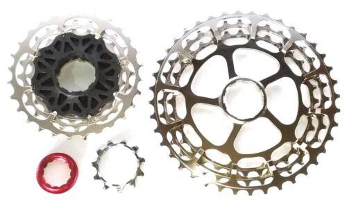 CrMo-Al MTB Road Bike 10 speed Cassette Sprocket Shimano OSMC-CA-S10-1140T