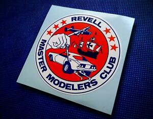 Vintage 70's Style • REVELL MASTER MODELER'S CLUB • Sticker • Decal