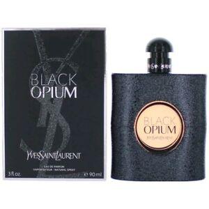 Black Opium Perfume by Yves Saint Laurent, 3 oz EDP Spray for Women NEW