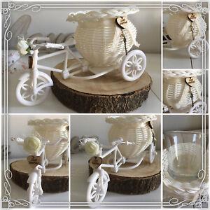 Fahrrad Vase Dekoration Geldgeschenk Hochzeit Tischdekoration