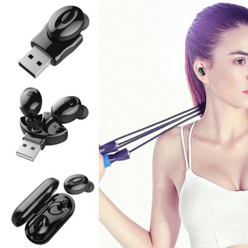 Bluetooth 5.0 Headset TWS Wireless Earphones Earbuds Stereo In-Ear Y4B3