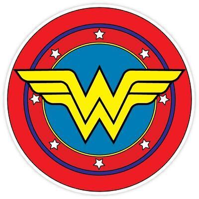Wonder Woman Amazon Warrior Character Vinyl Sticker Wall Car Decal Bumper Truck