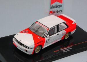 Bmw-M3-E30-43-Bigazzi-Marlboro-Wtcc-1987-Sala-Grouillard-1-43-Model-IXO-MODEL