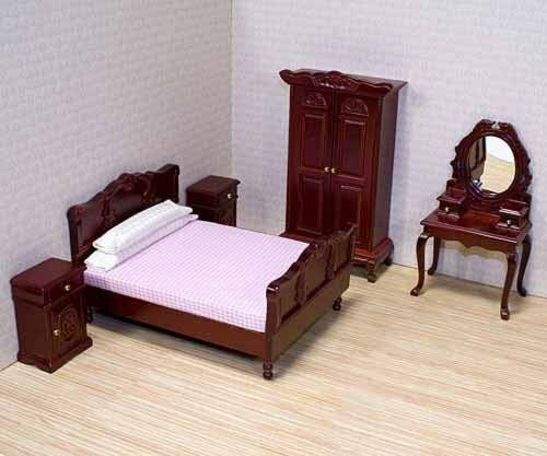 Melissa U0026 Doug Deluxe Doll   House Bedroom Furniture 320202798551 | EBay