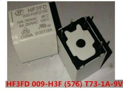 Relais relay HF3FD 009-H3F T73-1A-9V 576