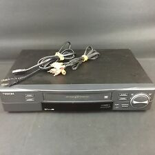TOSHIBA M754 HI-FI 6 HEAD VHS VCR PRO DRUM V3 SIX HEAD 19U COMMERCIAL Free Ship