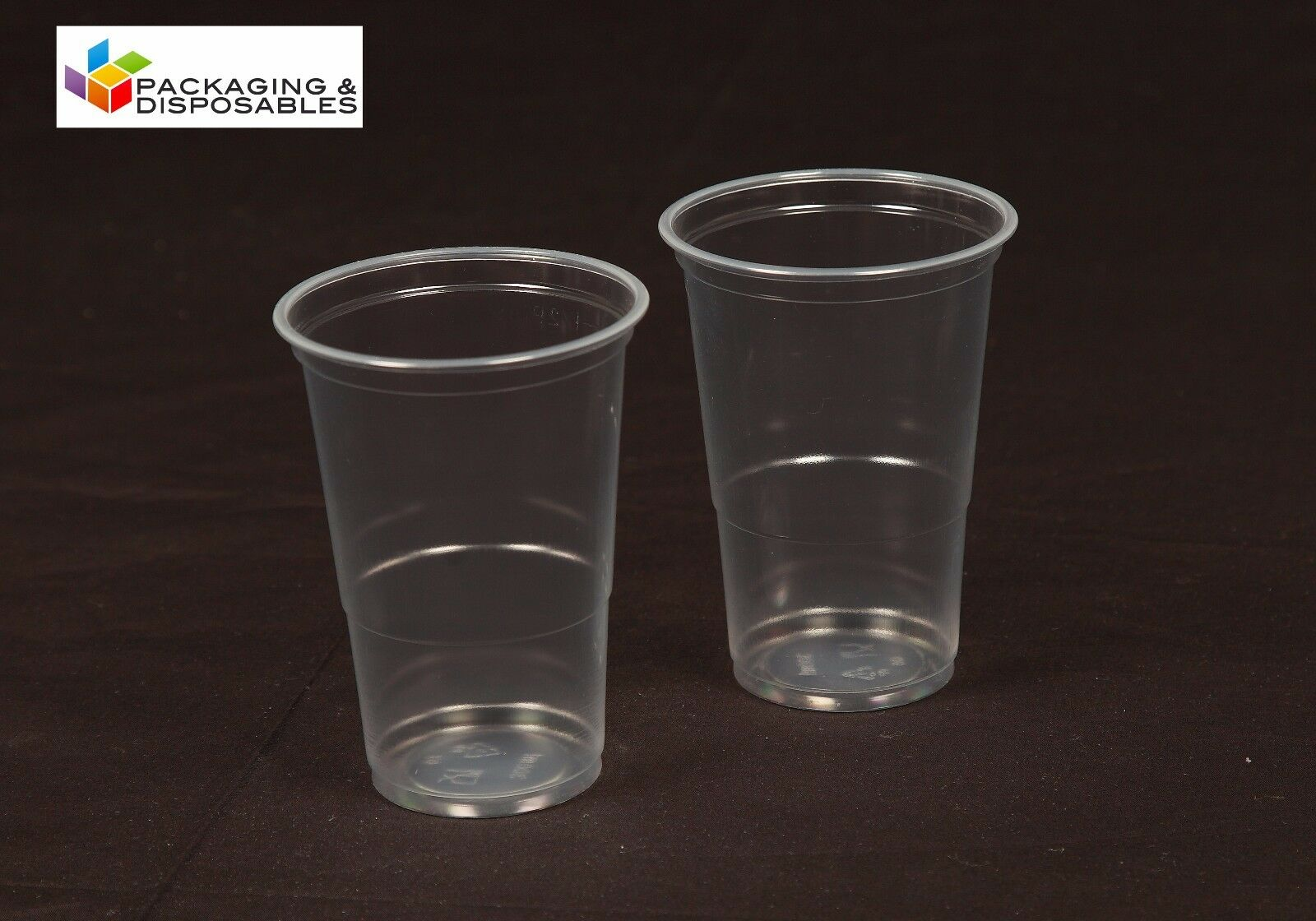 1000 x CLEAR DISPOSABLE PLASTIC HALF 1 2 PINT BEER GLASSES STRONG