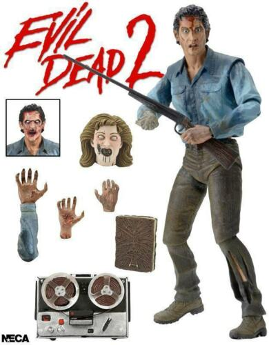Ultimate Evil Dead 2 Ash Action Figure ~ Williams ~ Bruce Campbell ~ vs ~ NECA ~ NEW IN BOX