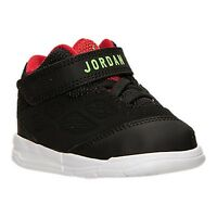 Baby Boys' Shoes Jordan School Basketball Shoes Toddler Size 8 Black/red