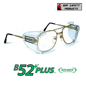 safety glasses side shields b52 side shields for rx glasses safety eyewear eye 10123