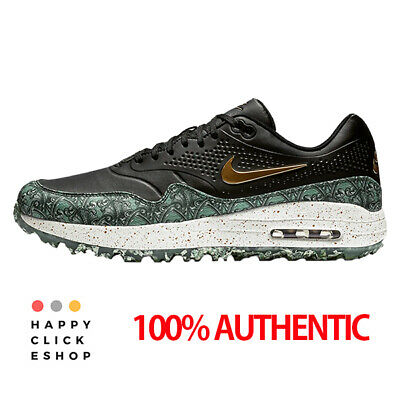 NIKE AIR MAX 1 G NRG Golf Size 12 BQ4804 001 Grass Waste Authentic Last Stock