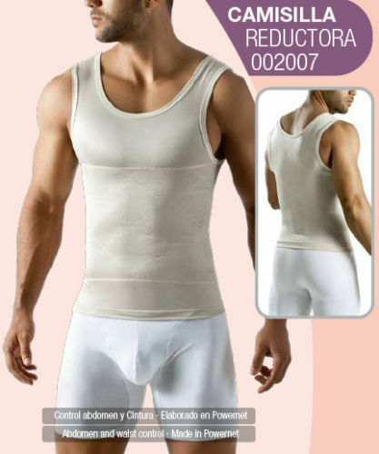 Shapewear for Men Abdomen Control Undershirt,Fajas para Hombres Geordi 2007