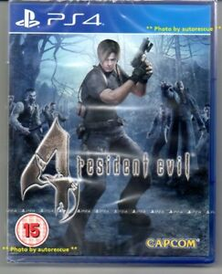 Resident-Evil-4-HD-039-New-amp-Sealed-039-PS4-Four