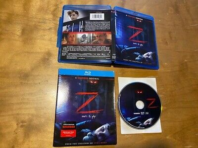 Z Blu Ray Rlje Films A Shutter Original Slipcover Z Wants To Play Ebay