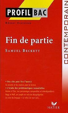 Fin de partie von Samuel Beckett | Buch | Zustand gut