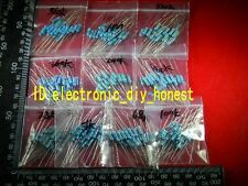 200pcs 10value 33k~1M 1/2W(0.5Watt) Carbon Film Resistor Assortment Kit #3823