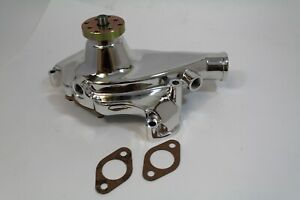 "BB Chevy  Alum Short Water Pump  ""Smooth Snout Design 396 427 454 H/Volume"