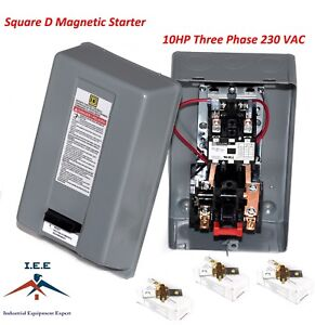 Magnetic Motor Starter control 10hp 3ph 230v 38A replaces FURNAS /& Square D