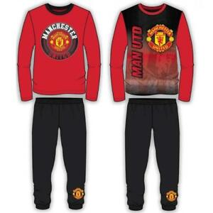 New-Age-5-6-Manchester-United-FC-Kids-Boys-Pyjamas-Official-Club-Products